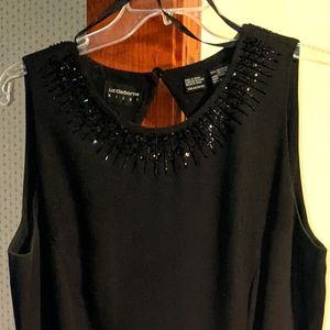Liz Claiborne black formal dress